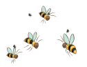 back-bees badge